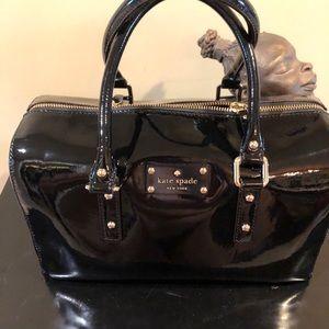 Kate Spade Black Patent Leather satchel